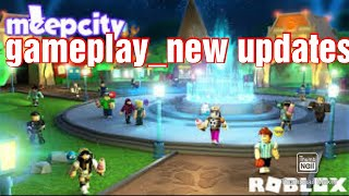 Playing Roblox Meepcity - Roblox Meepcity Gameplay -New updates