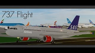 SFS 737 FLIGHT! | SFS Flight Simulator | Roblox