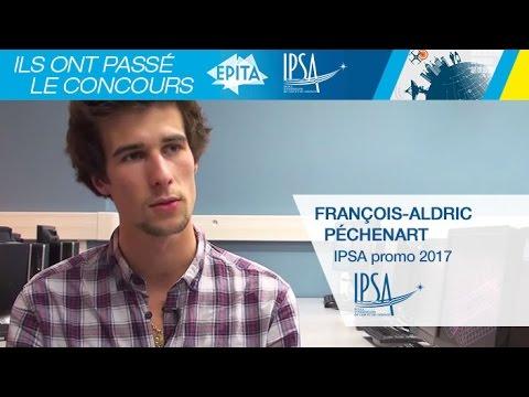 Témoignage de François-Aldric Péchenart, en 3e année à l'IPSA
