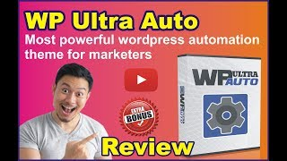 WP Ultra Auto Review Demo & Bonus  - Automated Wordpress Theme That RANKS ITSELF On Google