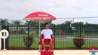 Everondack® Lifeguard Chair - Lg 505 (lifeguard Red)