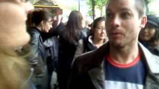 Steve hart et ses fans-Paris may2010