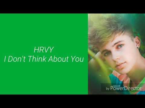 HRVY - I Don't Think About You (Lyrics) Mp3