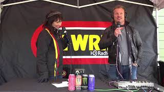 Anne Carlini talks with Chris Jericho of Fozzy at Riff Fest