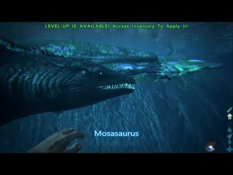 All sea monsters in Ark-smallest to largest