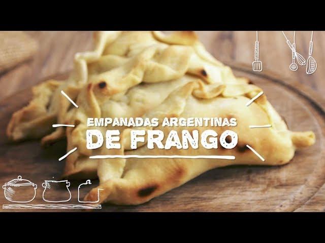 Empanadas Argentinas de Frango - Sabor com Carinho (Tijuca Alimentos)