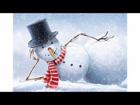 Стихотворение про снеговика
