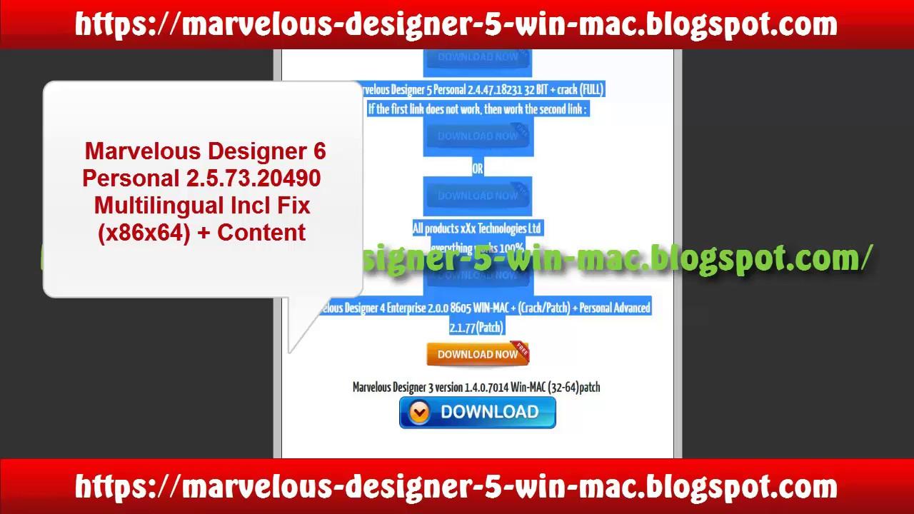 marvelous designer 5 enterprise crack