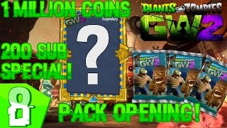 plants vs zombies garden warfare 2   legendary 1m coins pack opening 200 subscriber special 8