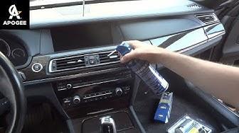 Спрей за почистване на автоклимацити BOOST. Почистване на автоклиматика на BMW F01 750i