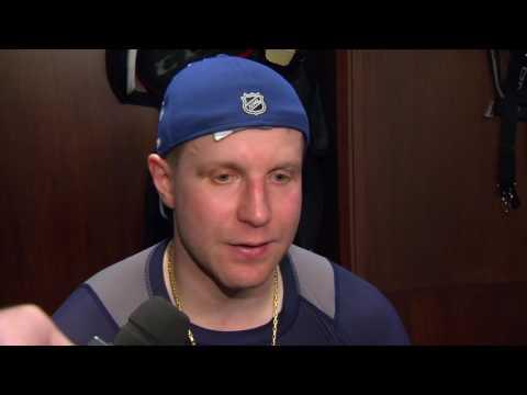 Maple Leafs Post-Game: Leo Komarov - March 20, 2017