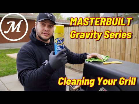 Masterbuilt Gravity Smoker  How To Clean Your Gravity Series