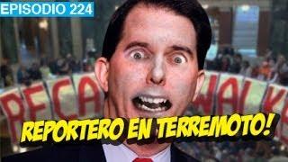 Periodista en Terremoto! l whatdafaqshow.com
