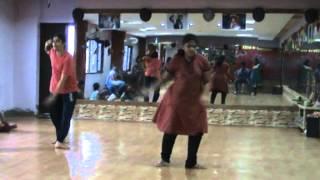 spark dance institute my student s practice dolu baaje hindi song ram leela