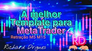 Melhor Template MT4 Retração M5 Prince Action Altomatico