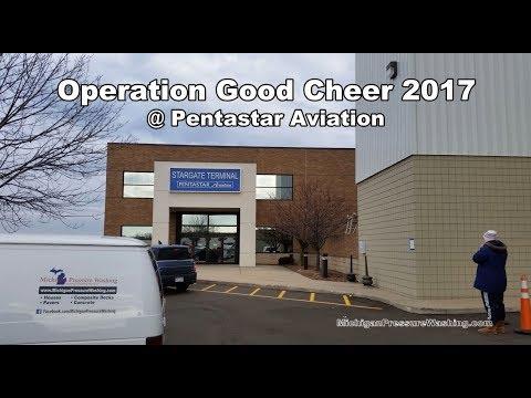 Operation Good Cheer 2017 Waterford, MI @ Pentastar Aviation / Oakland County Airport