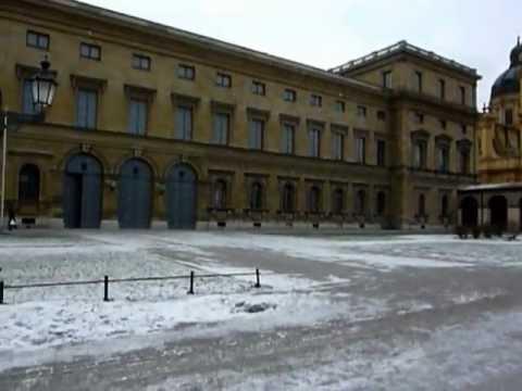 Munich Escenas invernales mes Enero 2011