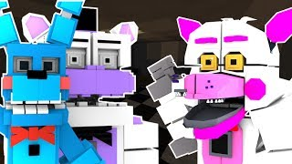 FNAF Sister Location Roblox! Circus Baby, Funtime Freddy, Funtime Foxy and more! (Roblox roleplay)