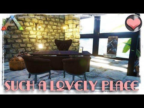 Lobby Design on Hotel Arcadia! - Modded ARK: Survival Evolved - Ep. 32