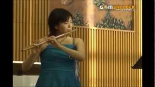 千の風になって(新井満)~フルート横山聡子 http://satofl.com ピアノ...