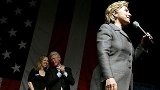 Hilary Clinton kicks off campaign to become first female US president