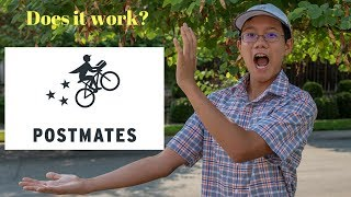Is ordering from postmates worth a try? Part 2