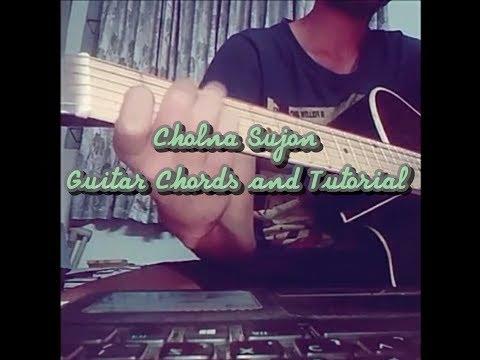 Cholna Sujon Guitar Chords And Tutorial | Bokhate Short Film
