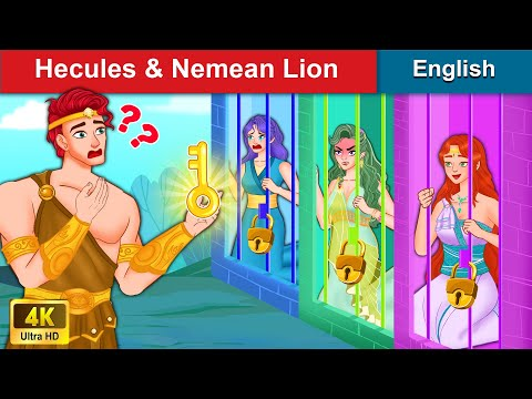 Hercules & The Nemean Lion 👸 Bedtime stories 🌛 Fairy Tales For Teenagers | WOA Fairy Tales