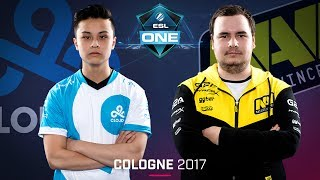 CS:GO - Cloud9 vs. Na'Vi [Mirage] Map 1 - Semifinal - ESL One Cologne 2017