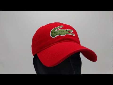 lacoste-pet---big-croc-gabardine---rouge-red---€44,95---gratis-verzending---capkopen.nl