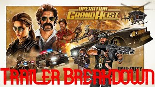 Black Ops 4 - Grand Heist Season Trailer Breakdown (Black Ops 4 Blackout Update)