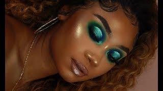 Two Tone Halo Cut Crease Makeup Look | MakeupTiffanyJ