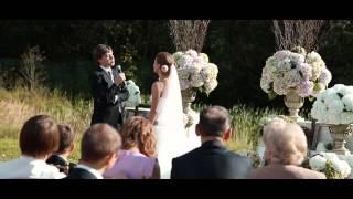 видео Свадьба на свежем воздухе. Годовщина свадьбы. Свадьба на открытом воздухе!