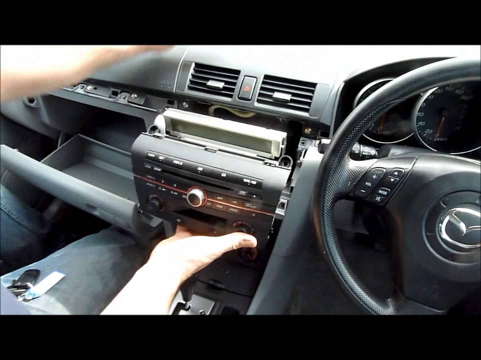 axela stereo removal
