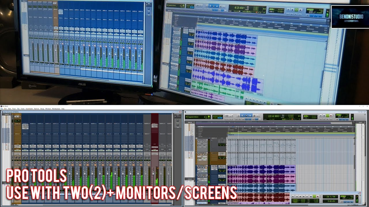 Download PRO TOOLS WITH TWO+ MONITORS/SCREENS (ON WINDOWS)