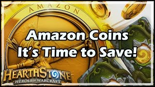 Amazon Coins: It's Time to Save!
