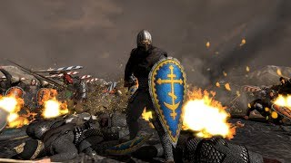 Mongols vs Russian Army -Kalka River  ''Total War Attila Medieval Kingdom Mod''