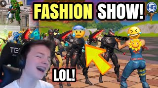 Fortnite FASHION SHOW #4! (Trio Fashion Show) Beste Skin & Emote Vinner!