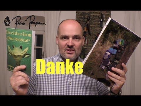 Danke schön - Dino Buch & EDC-Survival-Karte