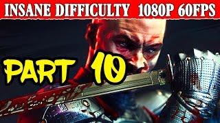 Shadow Warrior 2 Walkthrough Part 10 Insane Difficulty No Pain No Gain 1080p 60FPS