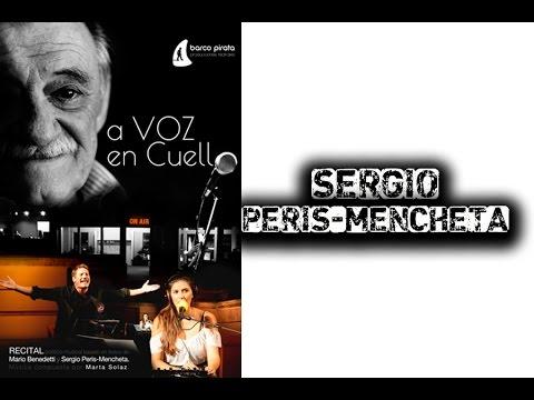"""""""A Voz en Cuello es teatro, poesía y radio, todo en uno"""" Sergio Peris-Mencheta."""