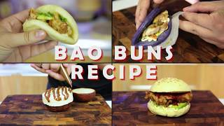 Bao Buns Recipe Chinese Steam Buns