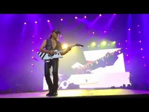 Scorpions Chile 2016  Matthias Jabs solo