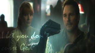 Jurassic World (Fallen Kingdom)| Owen, Claire, & Blue | I Bet You Don