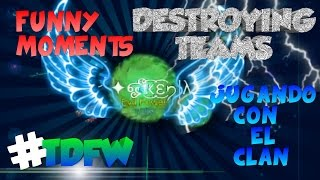 Baixar - Destroying Teams Clan War Tdfw Funny Moments Dominating With My Clan Nebulous Grátis