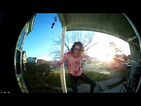 Emily's doorbell dance