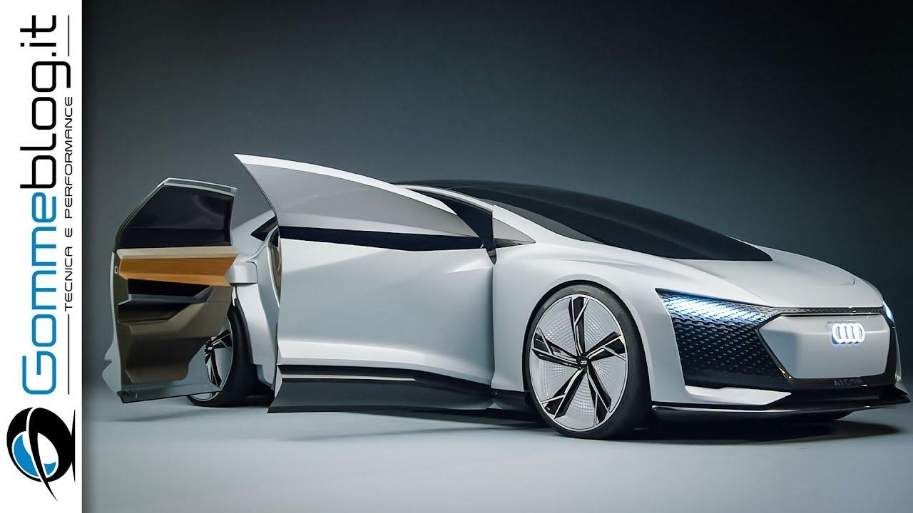 Audi Aicon Concept FULL Autonomous Driving - Audi vision ...