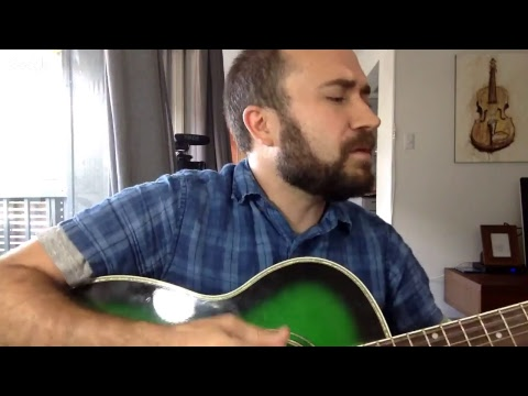 LIVE Practicing Driftless Pony Club (solo acoustic)