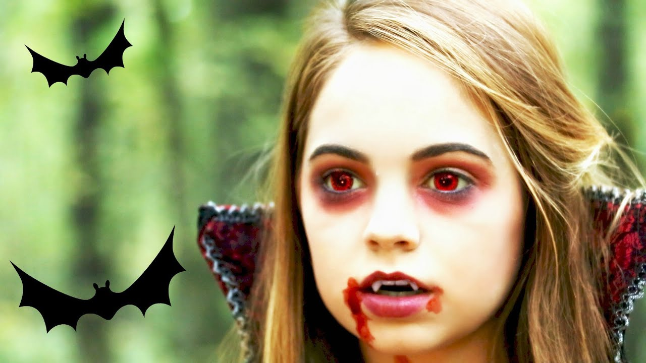 Vampire Makeup Tutorial ♥ - YouTube