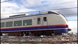 特急しらゆき5号新潟行き E653系H203編成 3015M